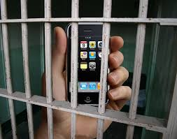 cell phone injail